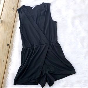 BCBGeneration Black Mini Romper Jumpsuit
